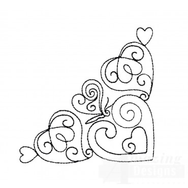 Sweet Dreams Outline 5 Embroidery Design