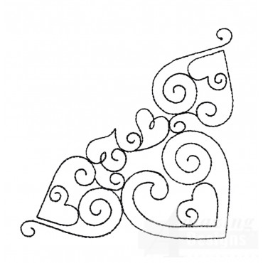 Sweet Dreams Outline 6 Embroidery Design