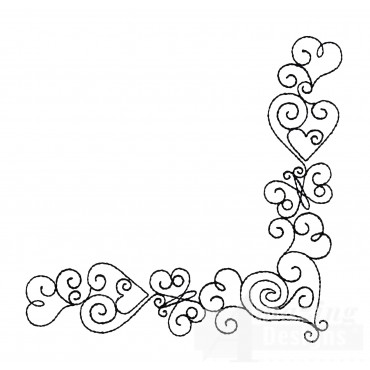 Sweet Dreams Outline 9 Embroidery Design