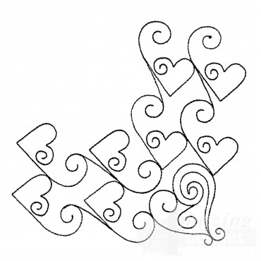Sweet Dreams Outline 16 Embroidery Design