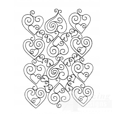 Sweet Dreams Outline 17 Embroidery Design
