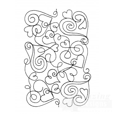 Sweet Dreams Outline 19 Embroidery Design