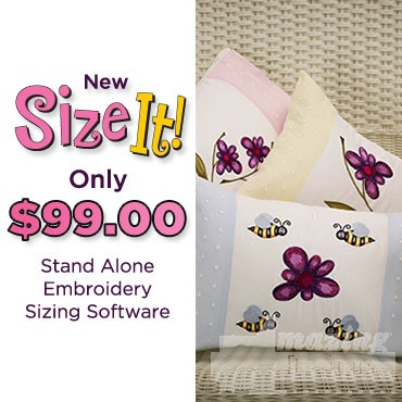 Size It Embroidery Software