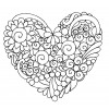 Bright Flowers Heartfelt Doodle Embroidery Design