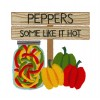 Peppers Farmers Market Embroidery Design
