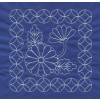 Flower Quilt Savvy Sashiko Embroidery Design