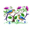 A Birds Paradise Jf303 Embroidery Design