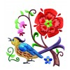 A Birds Paradise Jf310 Embroidery Design