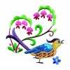 A Birds Paradise Jf313 Embroidery Design