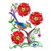 A Birds Paradise Jf315 Embroidery Design