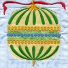 Ornament In-the-hoop Christmas Quilt Block