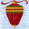 Ornament 2 In-the-hoop Christmas Quilt Block