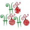 Ho Ho Ho Christmas Embroidery Design