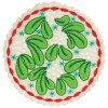 Mistletoe Circle Ornament Embroidery Design