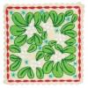 Mistletoe Square Ornament Embroidery Design