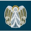 Freestanding Lace Angel 13 Embroidery Design