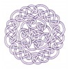 Outline Circle Knot 3 Embroidery Design