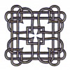 Square Celtic Knot Embroidery Design