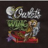 Owlets Wing Embroidery Design