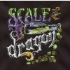 Scale Of Dragon Embroidery Design