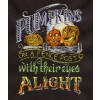 Pumpkins Eyes Alight Embroidery Design