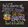 Charm Of Trouble Embroidery Design