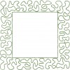 Square Stipple Frame Embroidery Design