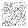 Leaf Quilt Block 2