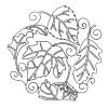 Leaf Quilt Block 8