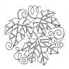 Leaf Quilt Block 9