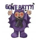 Bat Boy Boo Crew Embroidery Design