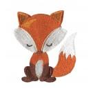 Foxy Snuggle Foxy Embroidery Design