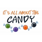 All About Candy Halloween Treats Design