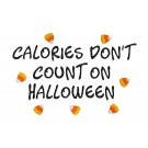 Calories Dont Count Halloween Treats Amazing Designs