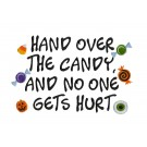 Hand Over the Candy Halloween Treats Amazing Designs