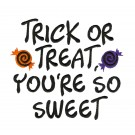 You're So Sweet Halloween Treats Amazing Designs