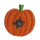 Spider Pumpkin A Little Embroidery Design