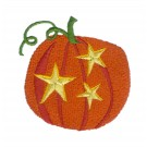 Stars and Pumpkin A Little Embroidery Design