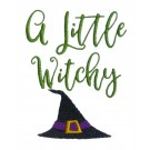A Little Witchy Words Embroidery Design