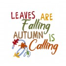 Autumn Calling Fall in the Forest Embroidery Design