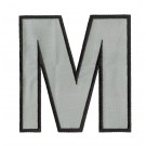 Letter M State of Happiness Embroidery Design