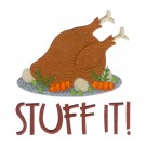 Happy Thanksgiving Embroidery Design