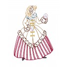 Snowball Belle Merry Belles Embroidery Design