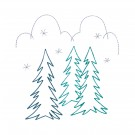 Evergreens Merry Belles Embroidery Design