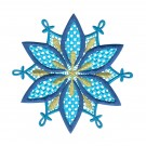 Snowflake 3 Freestanding Lace Snowflakes Embroidery Design