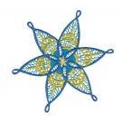Snowflake 5 Freestanding Lace Snowflakes Embroidery Design