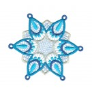 Snowflake 8 Freestanding Lace Snowflakes Embroidery Design