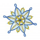 Snowflake 9 Freestanding Lace Snowflakes Embroidery Design