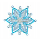 Snowflake 12 Freestanding Lace Snowflakes Embroidery Design