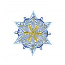 Snowflake 14 Freestanding Lace Snowflakes Embroidery Design
